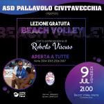 Beach Volley – L'ASP ospita coach Roberto Viscuso